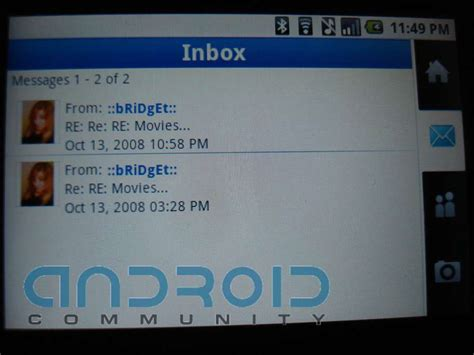 myspace for android myspace mobile launches for android android community