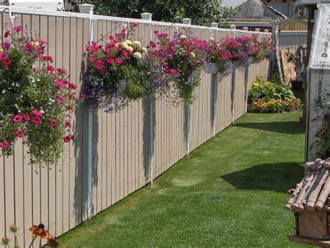 decorate backyard fence top 23 surprising diy ideas to decorate your garden fence