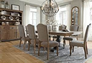 Dining Room Parson Chairs vintage casual the inspiration ashley furniture