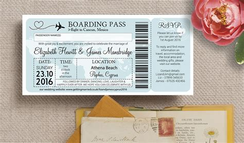 wedding card for abroad cyprus themed wedding stationery invitations