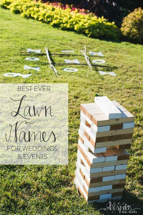 We love lawn games at weddings and events  with the warmer