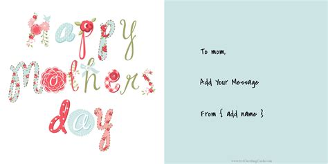 printable mothers day cards for to make clipart s day cards