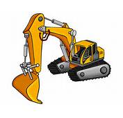 Excavator Picture Cartoon By Himuralbr