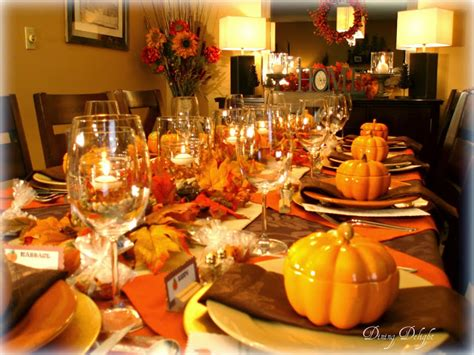setting a table for thanksgiving dinner maintain 9 own the festive season get your