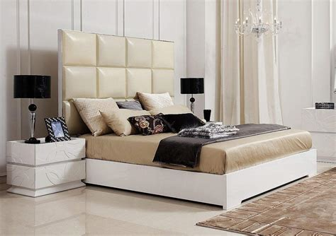 Bed Backs Designs made in italy leather luxury platform bed oakland