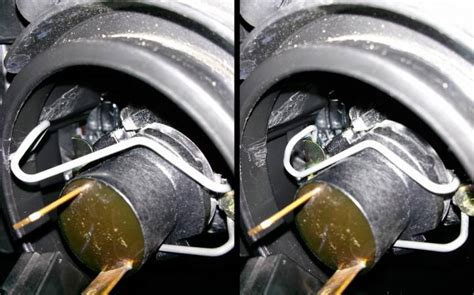 replace the headlight bulb on a mazda 3