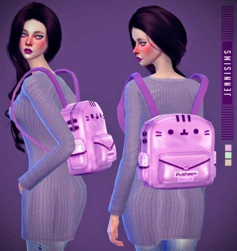 tumblr kawaii sims 4 cc backpack 187 sims 4 updates 187 best ts4 cc downloads