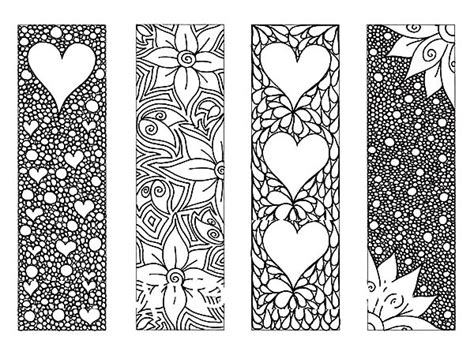 Bookmarks Coloring Pages free coloring pages of bookmarks to colour in