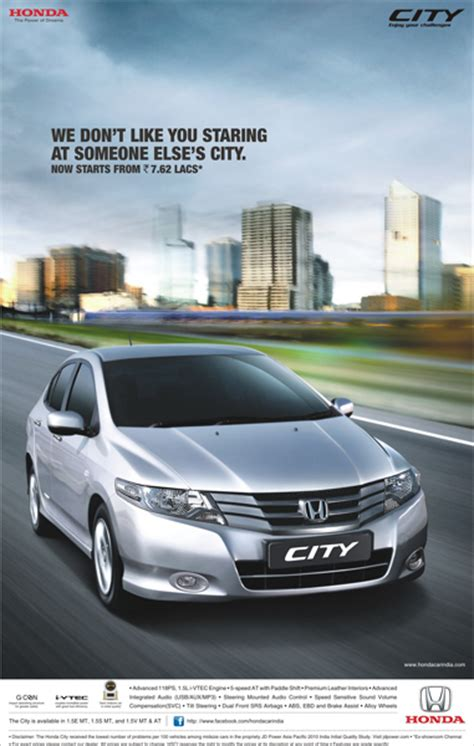 Honda Ad by Honda City Releases A New Commercial To Promote Its Price