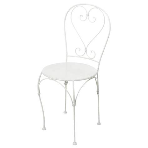 sedie in ferro battuto da giardino sedia color avorio da giardino in ferro battuto st germain