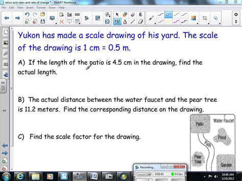 scale drawing worksheets problems solutions scale factor and scale drawings 8th grade math youtube