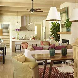 Living Room Kitchen Open Floor Plan Open Kitchen Floor Plans Home Decor And Interior Design