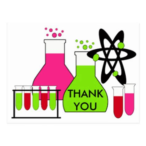 Thank You Letter To Your Science Science Birthday Thank You Gifts On Zazzle