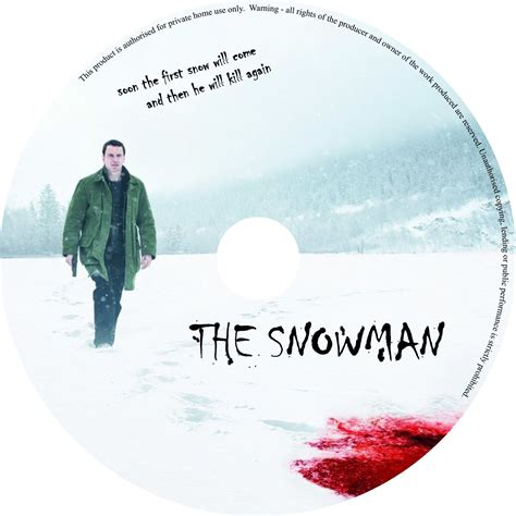 Label Snowman the snowman 2017 r0 custom dvd cover label dvdcover