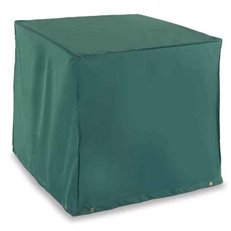 Square Patio Furniture Cover The Better Outdoor Furniture Covers Square Central Ac Cover Hammacher Schlemmer
