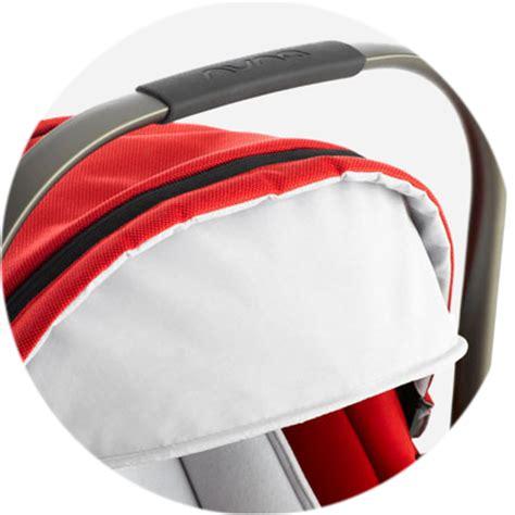 infant car seat ergonomic handle nuna pipa infant car seat scarlet