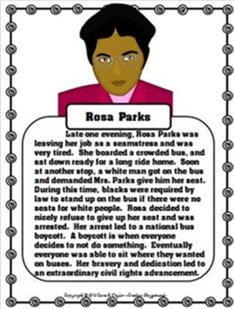 rosa parks biography lesson plan 1000 images about black history month unit on pinterest