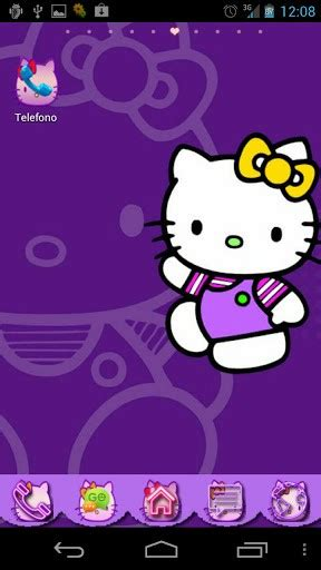 hello kitty violet themes purple hello kitty wallpaper wallpapersafari