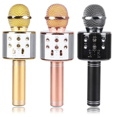 Mic Karaoke Ktv Q9 Bluetooth Wireless Microphone q7 q9 ws858 ws878 ws1816 ws1818 ka end 11 23 2018 12 00 pm