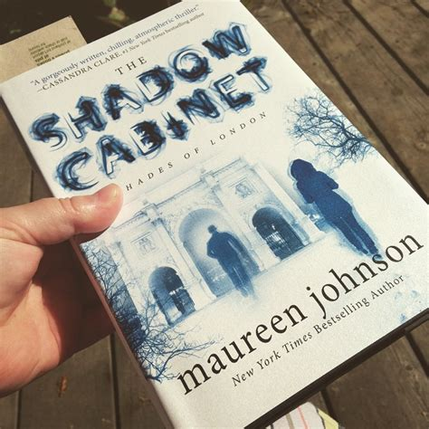 book review the shadow cabinet maureen johnson this
