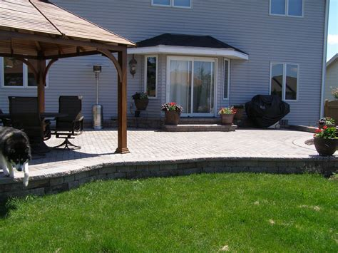 landscaping around concrete patio icamblog