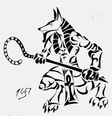 tribal tattoo god tribal anubis by sakashima on deviantart