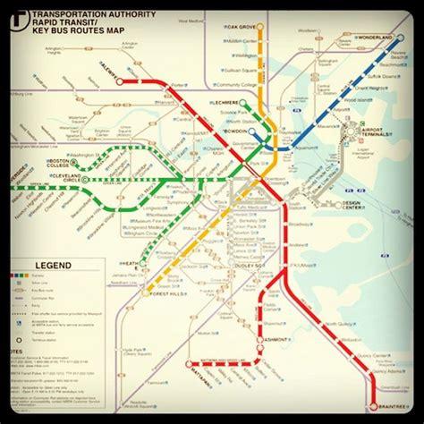 boston transit map subway map mta boston subwaymap metro transit t flickr photo