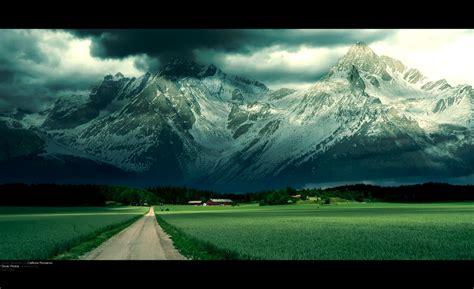 Ghost Mountain Desktop Wallpaper Hd   Free High Definition