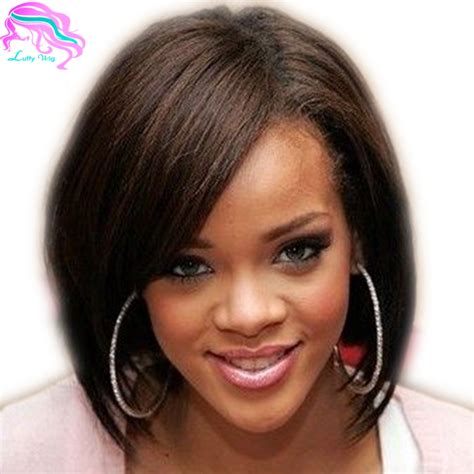 Wig Baby buy glueless lace wigswith baby hair black bob