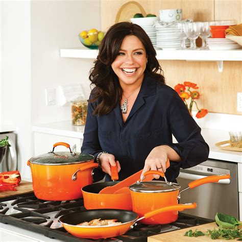 Rachael Ray 14 Piece Hard Enamel Nonstick Cookware Review Rachael Kitchen Set