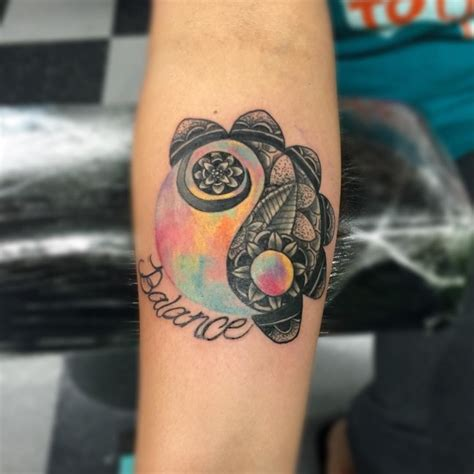 100 greatest yin yang tattoos and meanings april 2018