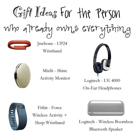 gift ideas for the person who already owns everything