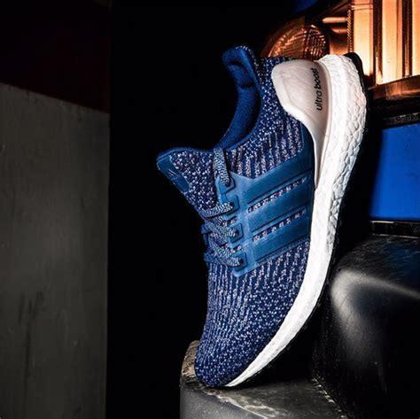 Sneaker Olahraga Adidas Ultraboost Navy Go Original adidas ultra boost 3 0 blue silver sneakerfiles