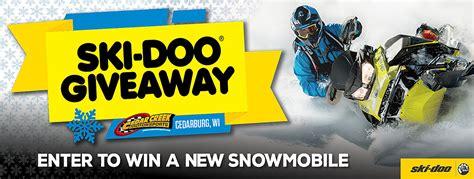 Snowmobile Giveaway - ski doo snowmobile sales cedar creek motorsports near milwaukee wi