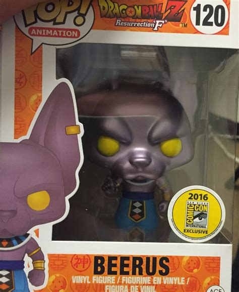 Pop Nosh The Other Blogs Edition by Beerus The Destroyer Pop Vinyl Coming To Sdcc Popvinyls