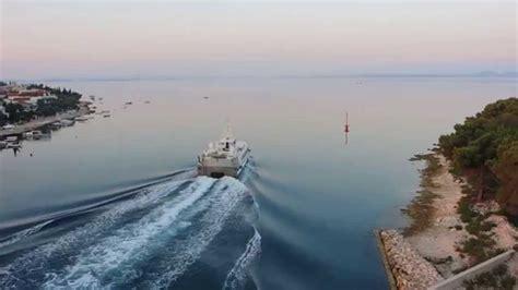 catamaran zadar sali katamaran zadar sali youtube