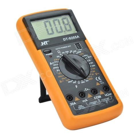 Jakemy Digital Multimeter Jm 9205a 3 nt dt 9205a 3 quot lcd digital multimeter black orange 1 x 9v g6f22s free shipping dealextreme