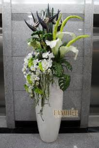 How To Decorate A Glass Vase Floor Vase Fashion Set Flower Stair Decoration Pu