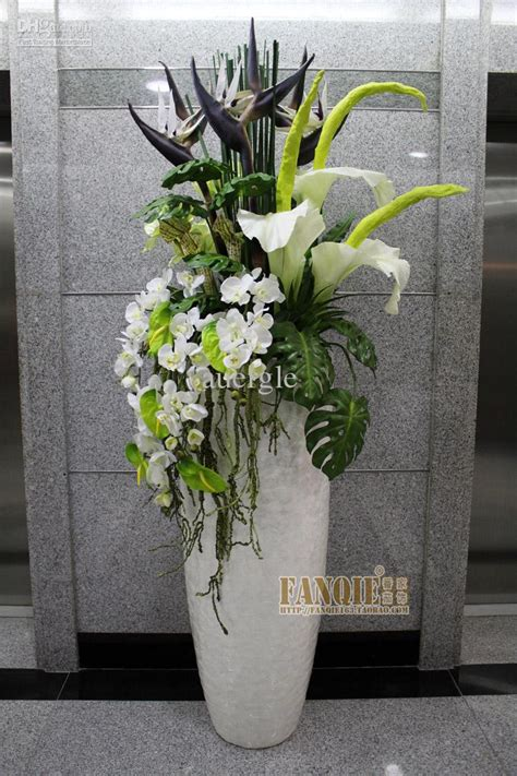 Flowers For Floor Vases by Floor Vase Fashion Set Flower Stair Decoration Pu Artificial Flower Cheap Glass Vases And Bowls