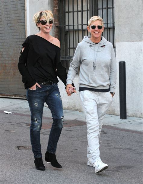 degeneres and portia degeneres and portia de hold la oct