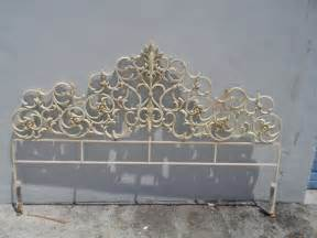 decorative regency palm iron scroll king size
