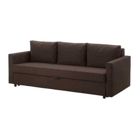 friheten sofa bed skiftebo brown ikea