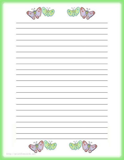 Free Printable Papers For Card - 114 best images about printable lined writing paper on