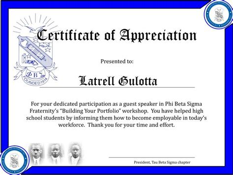 certificate of appreciation template powerpoint certificate appreciation template ppt certificate of