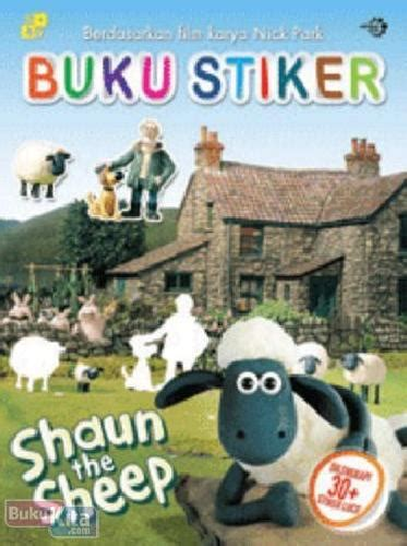 bukukita shaun the sheep buku stiker