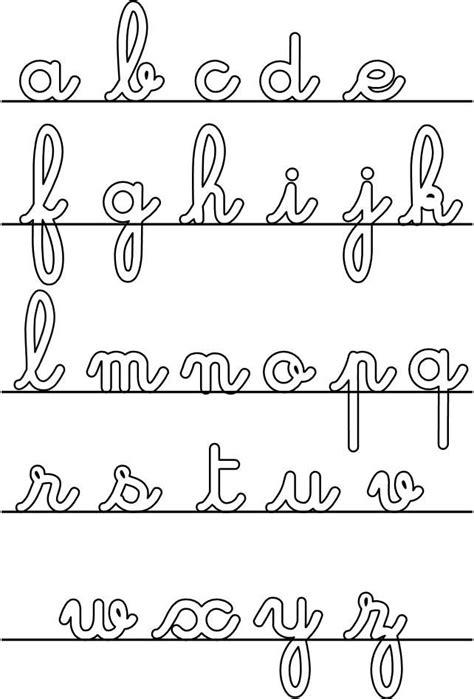 lettere corsive les 25 meilleures id 233 es de la cat 233 gorie lettres cursives