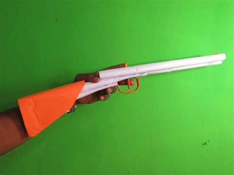 How To Make A Paper Shotgun That Shoots - how to make a paper barrel shotgun that shoots