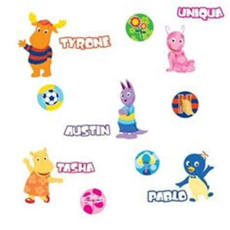 the gallery for gt backyardigans characters names
