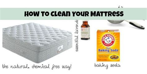Clean Mattress With Baking Soda by Cleaning Tips And Tricks Happy Go Lucky