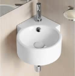 tiny corner bathroom sink unique wall mounted corner ceramic sink by caracalla contemporary bathroom sinks